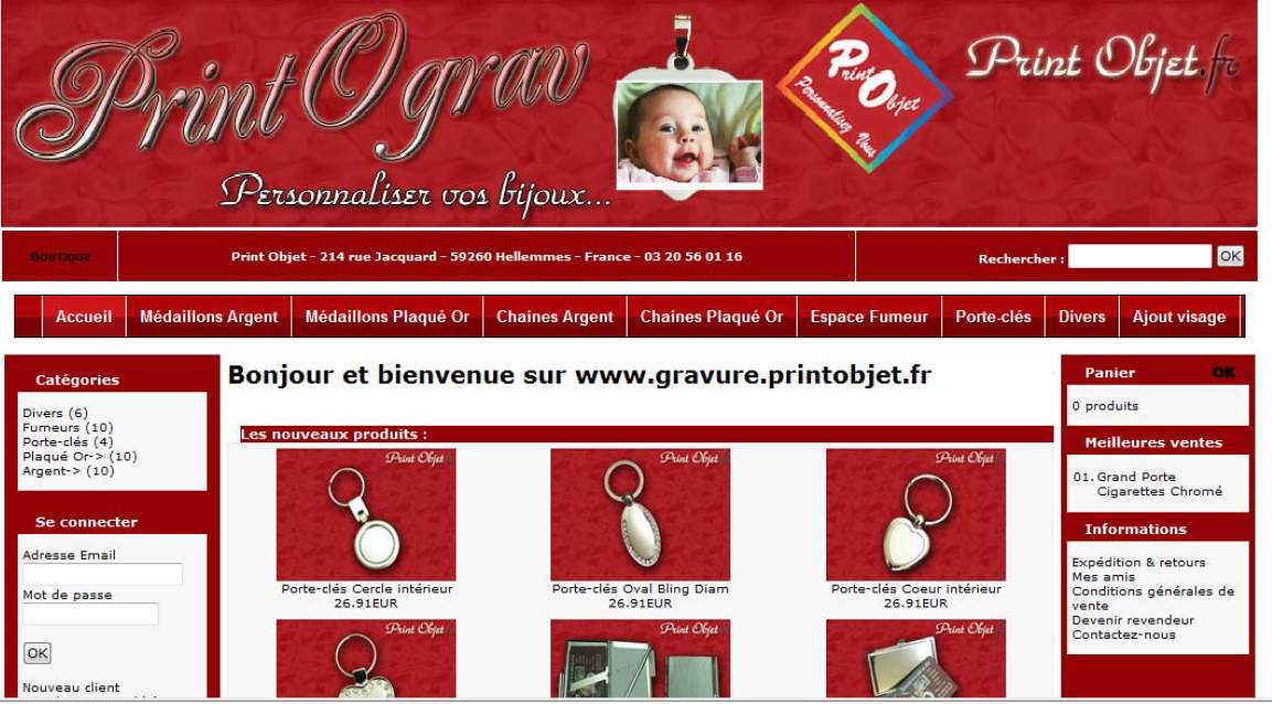 e-commerce : printobjet.fr