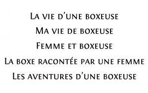 Maëlle Pariez - Idée de titres