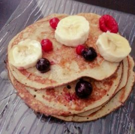 Maëlle Pariez - Pancake proteiné à la banane